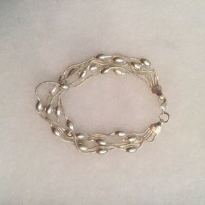 Jewelry - ⭐️BRACELET STERLING SILVER 925 5 STRANDS 7""